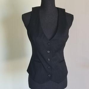 Guess black vest